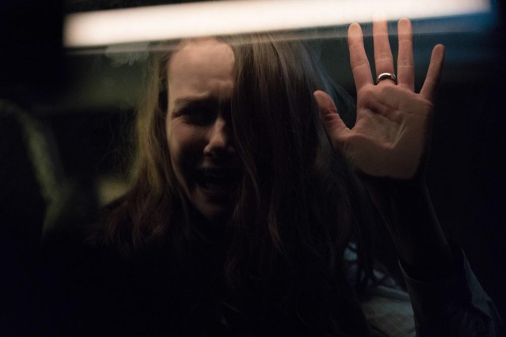 Halloween: Andi Matichak in una scena del film