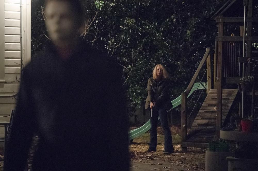 Halloween: una scena del film