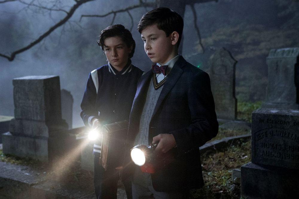 Il mistero della casa del tempo: Owen Vaccaro e Sunny Suljic in un momento del film