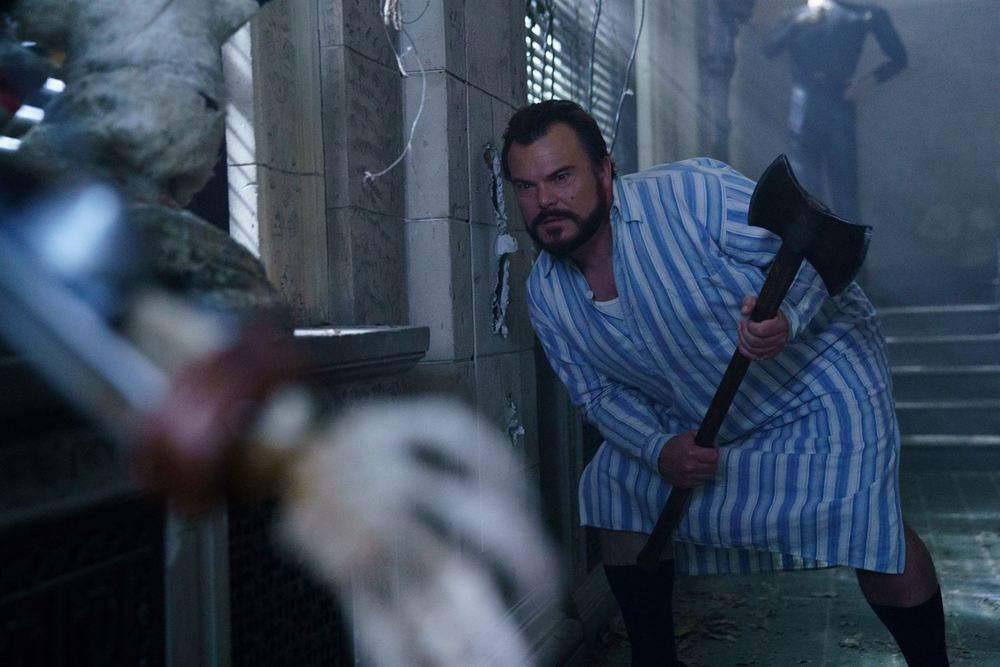 Il mistero della casa del tempo: Jack Black in una scena del film