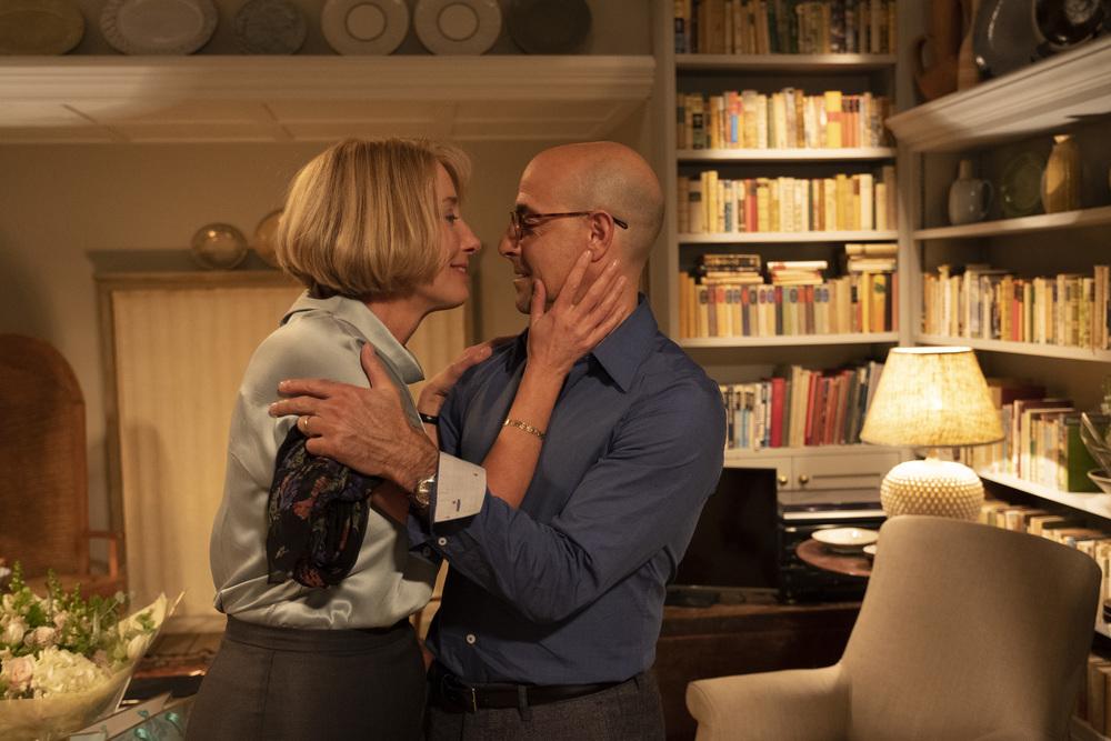 Il verdetto: Stanley Tucci ed Emma Thompson in un momento del film