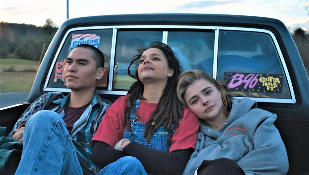 La diseducazione di Cameron Post: Chloe Grace Moretz, Forrest Goodluck e Sasha Lane in una scena del film