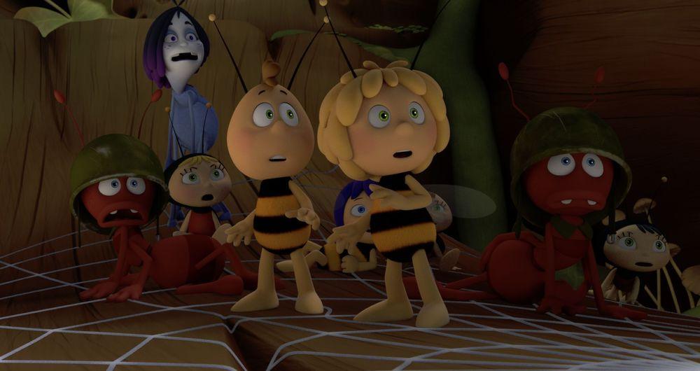 L'Ape Maia - Le Olimpiadi di miele: un'immagine del film animato