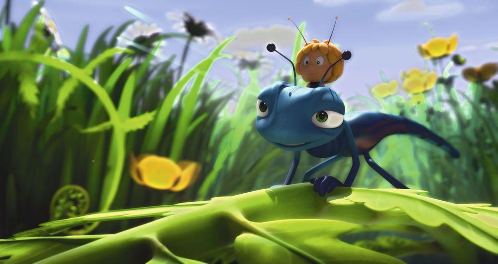 L'Ape Maia - Le Olimpiadi di miele: un'immagine del film d'animazione
