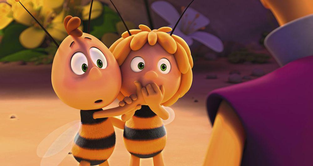 L'Ape Maia - Le Olimpiadi di miele: un momento del film animato