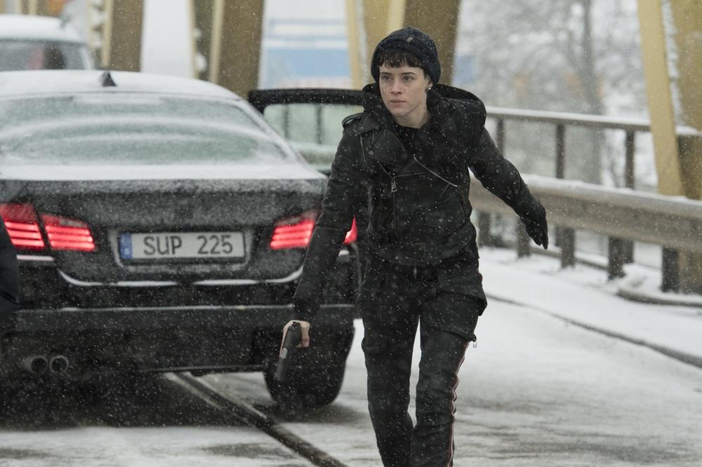 Millennium - Quello che non uccide: Claire Foy in un'immagine tratta dal film