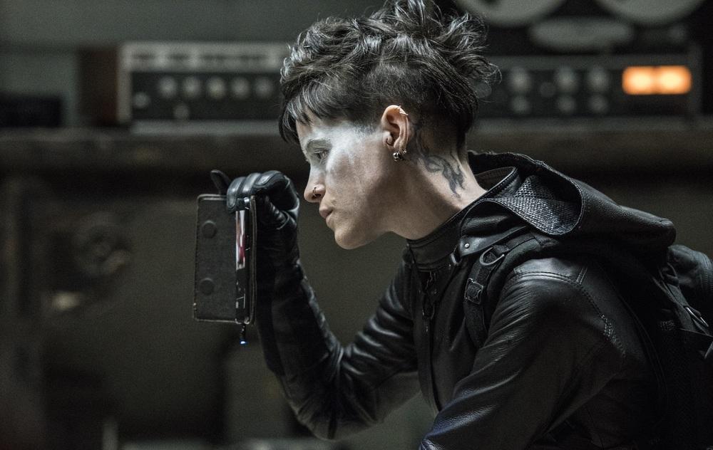 Millennium - Quello che non uccide: Claire Foy in una scena del film