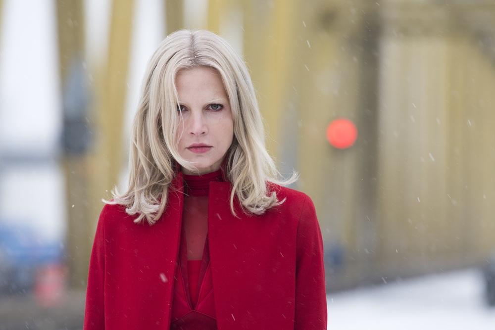 Millennium - Quello che non uccide: Sylvia Hoeks in una scena del film