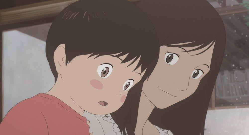 Mirai: una scena del film d'animazione