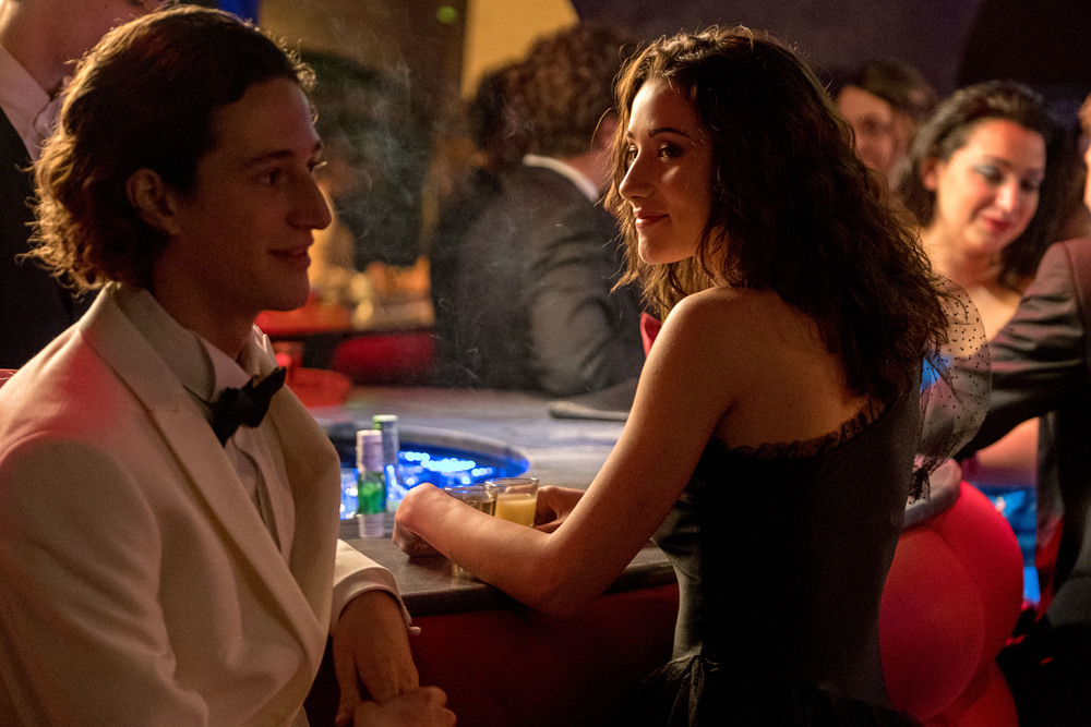 Nessuno come noi: Vincenzo Crea e Sabrina Martina in una scena del film