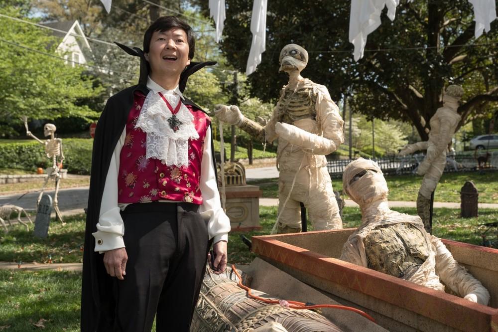 Piccoli brividi 2: I fantasmi di Halloween, Ken Jeong in un'immagine del film