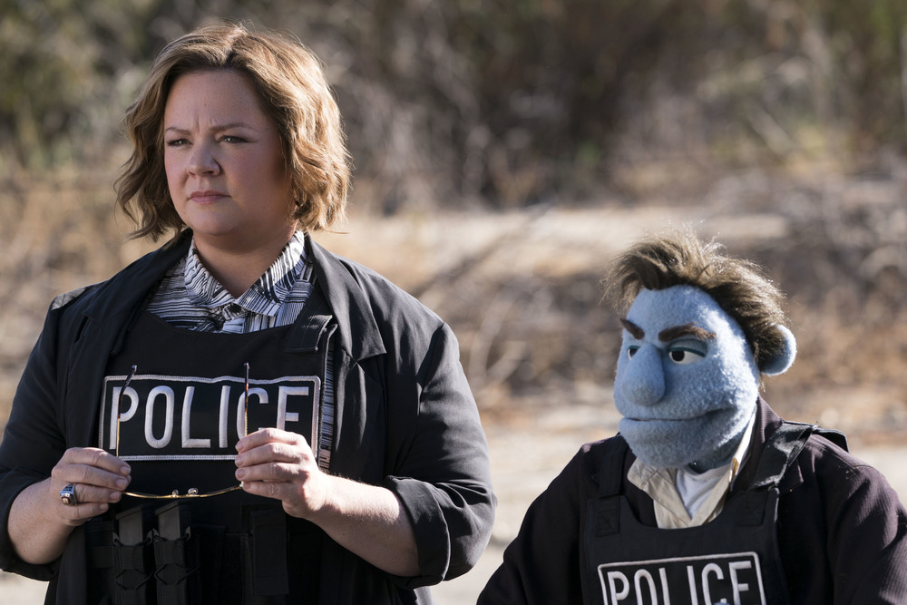 Pupazzi senza gloria: Melissa McCarthy in una scena del film