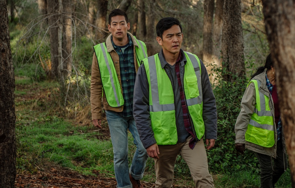 Searching: Joseph Lee e John Cho in una scena del film