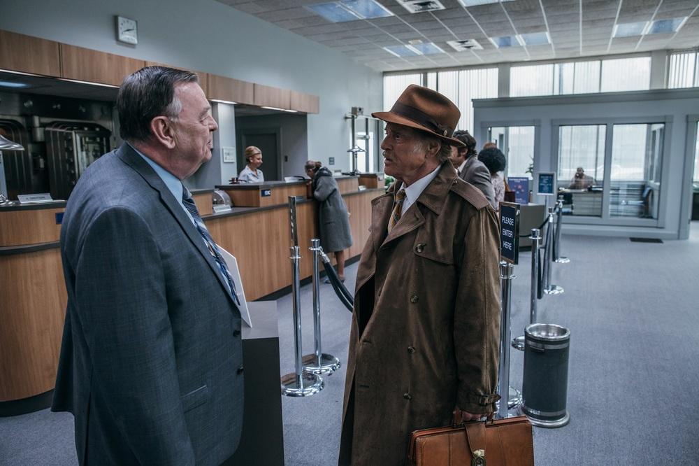 The Old Man & the Gun: Robert Redford e Gene Jones in una scena del film