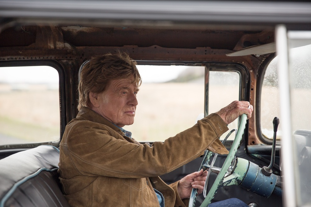 The Old Man & the Gun: Robert Redford in una scena del film