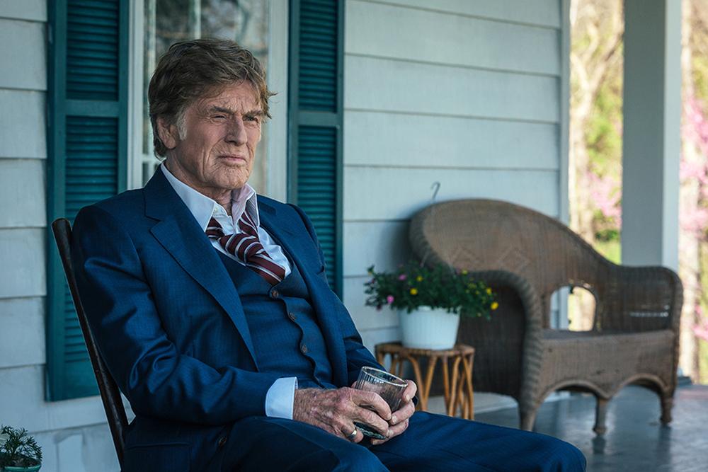 The Old Man & the Gun: Robert Redford in un momento del film