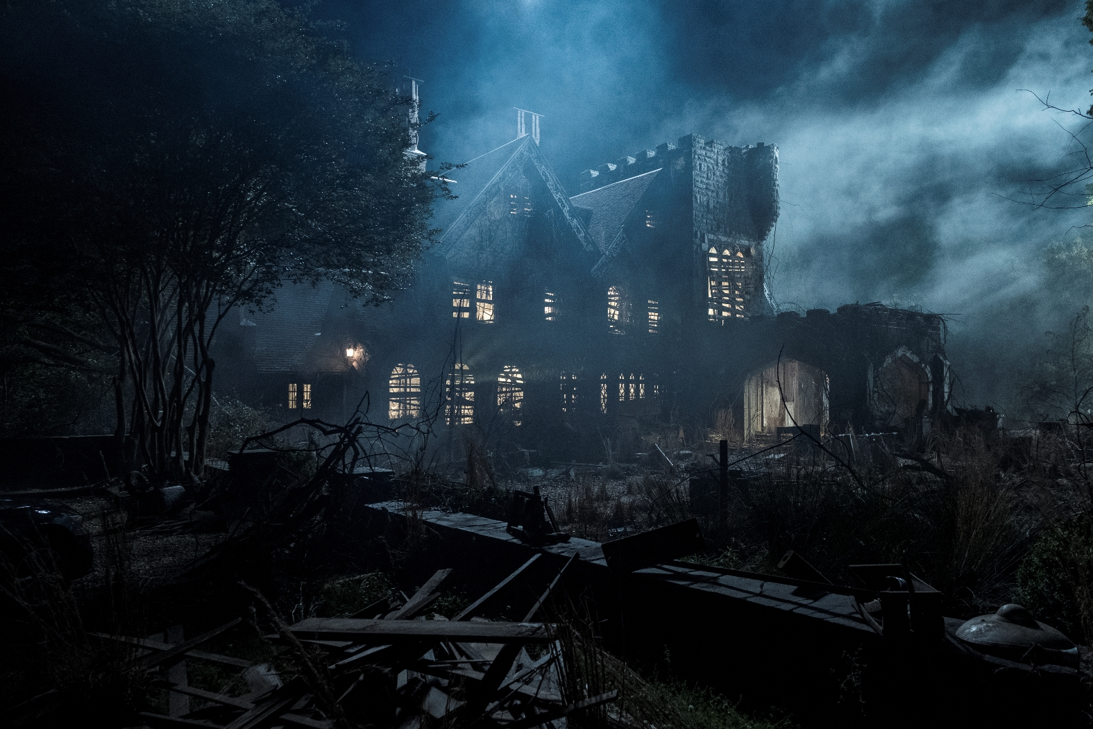 The Haunting of Hill House: un'immagine inquietante della casa stregata