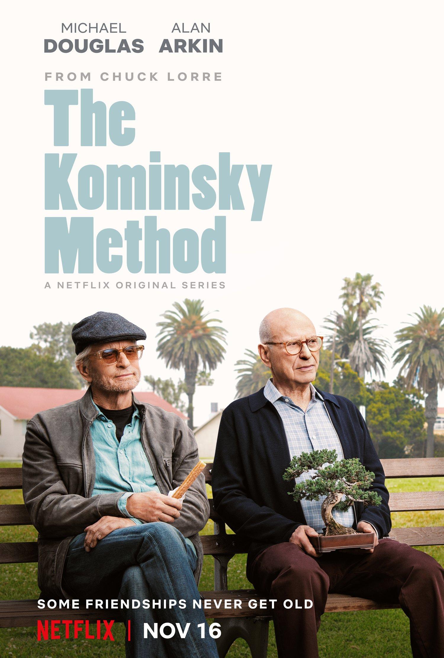 Il metodo Kominsky: il poster della serie Netflix