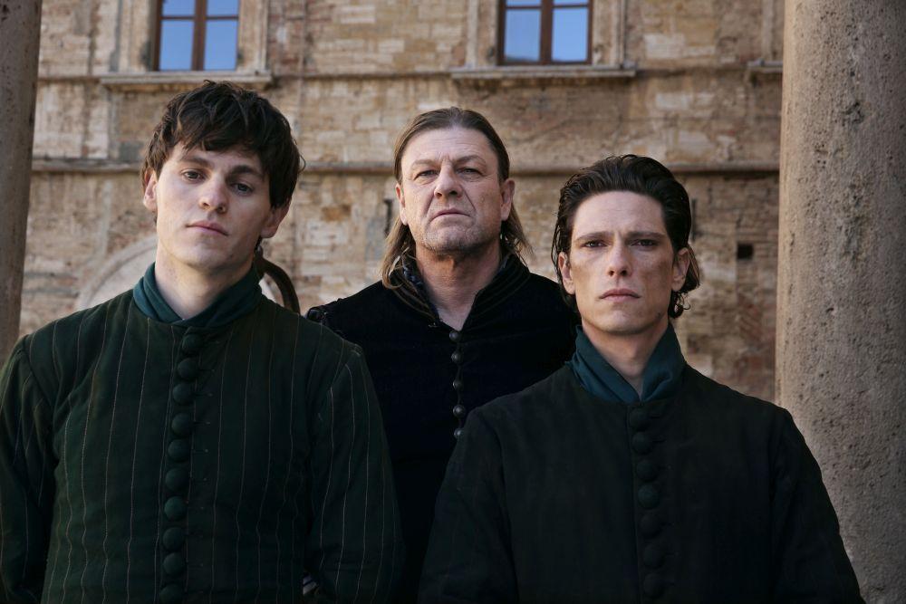 I Medici 2, Sean Bean e gli altri membri della famiglia Pazzi