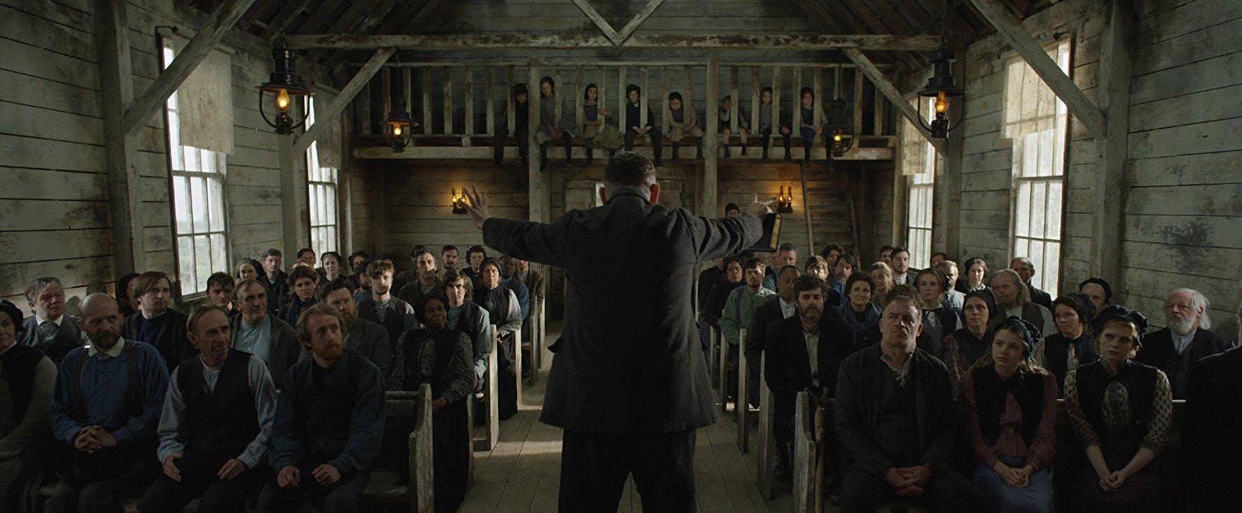 Apostolo: un momento del film Netflix