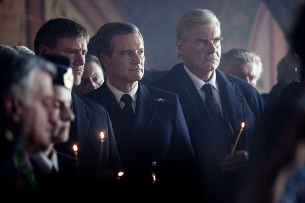 Kursk: Colin Firth in una scena del film
