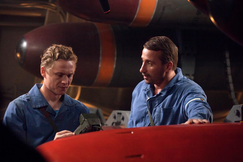 Kursk: Matthias Schoenaerts e August Diehl in una scena del film