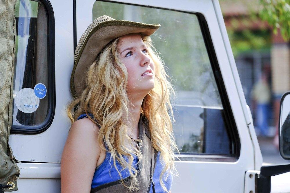 Mia e il leone bianco: Daniah De Villiers in una scena del film