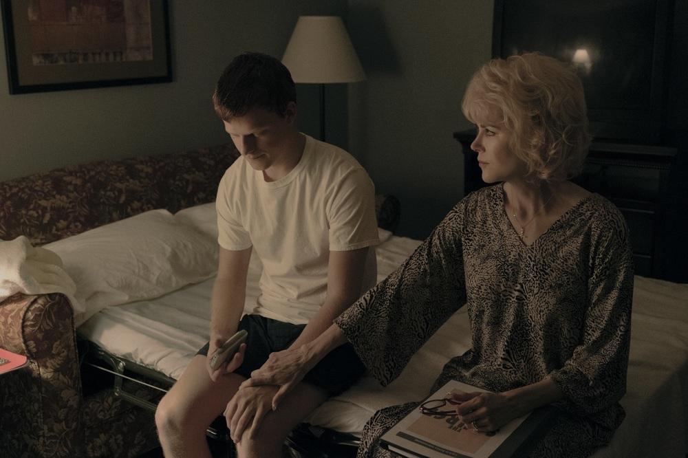 Boy Erased: Nicole Kidman e Lucas Hedges in un momento del film