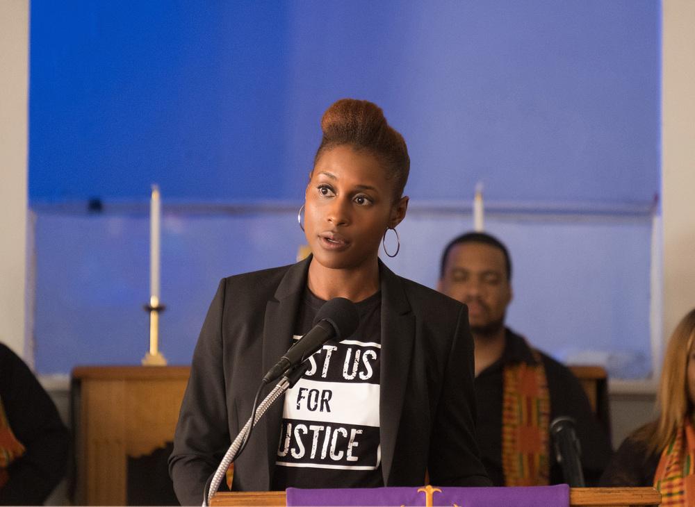 The Hate U Give: Issa Rae in una scena del film