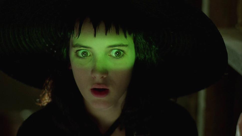 Winona Ryder in Beetlejuice di Tim Burton