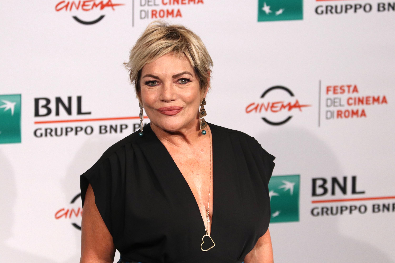 Roma 2018: Cristina Donadio al photocall de Il vizio della speranza