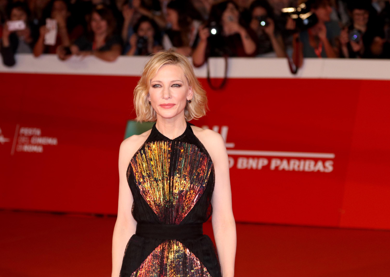 Roma 2018: Cate Blanchett sul red carpet de Il mistero della casa del tempo