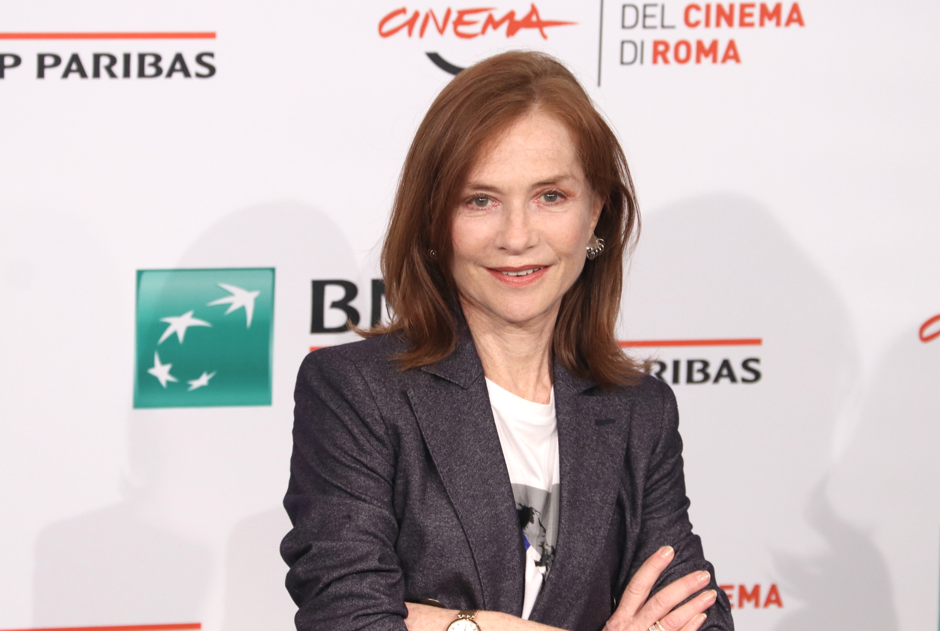 Roma 2018: Isabelle Hupper al photocall