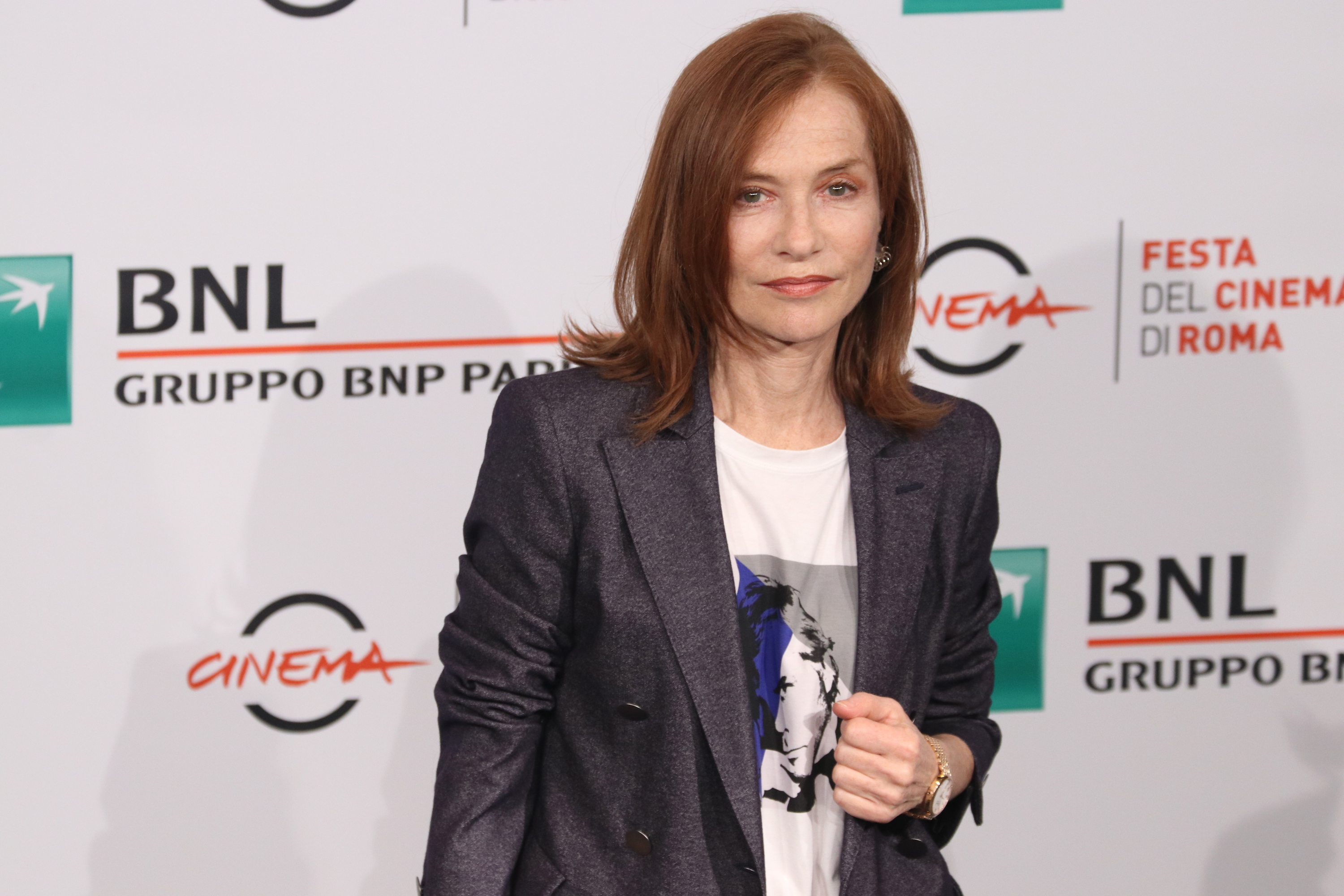 Roma 2018: Isabelle Hupper in posa al photocall
