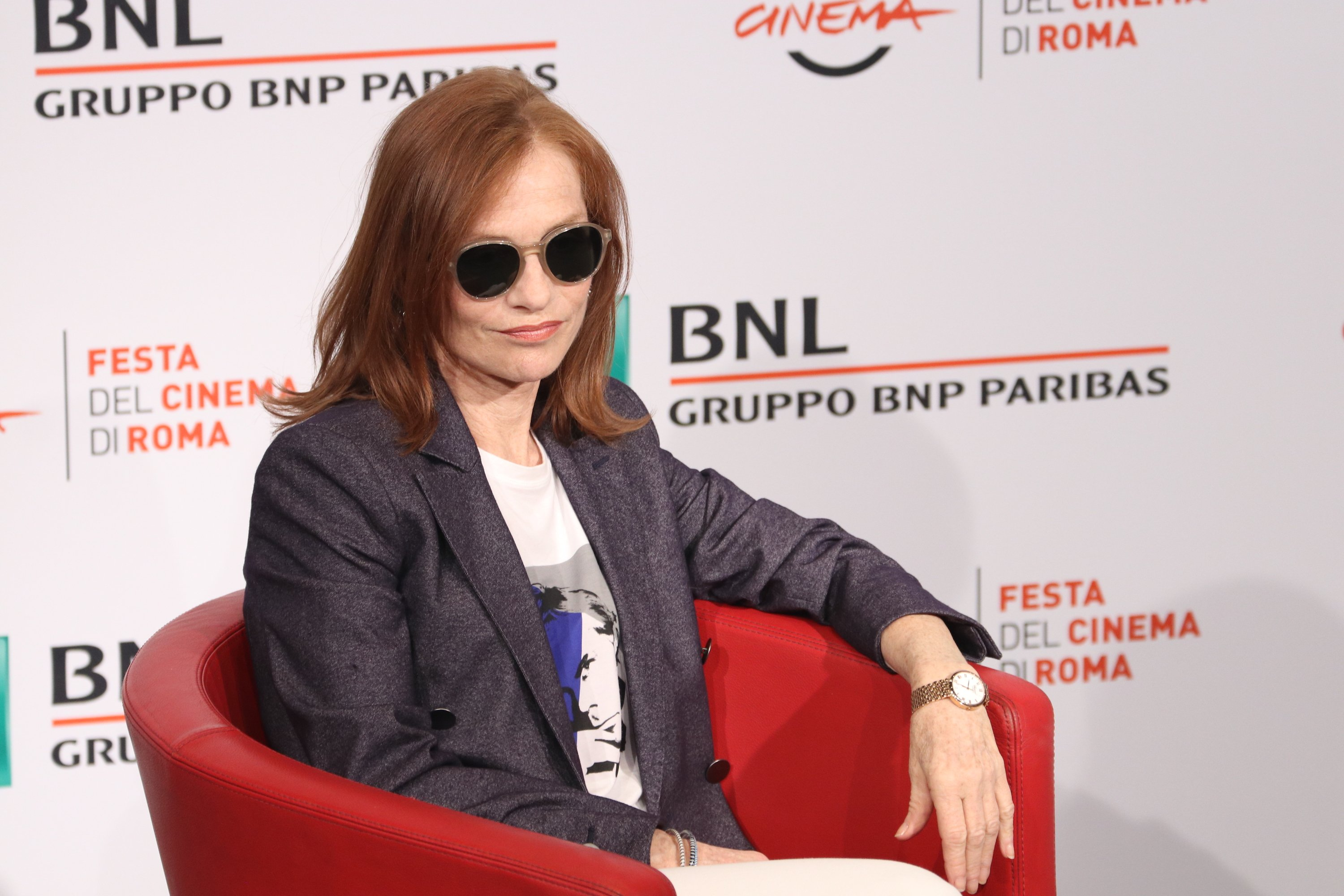 Roma 2018: Isabelle Hupper posa al photocall