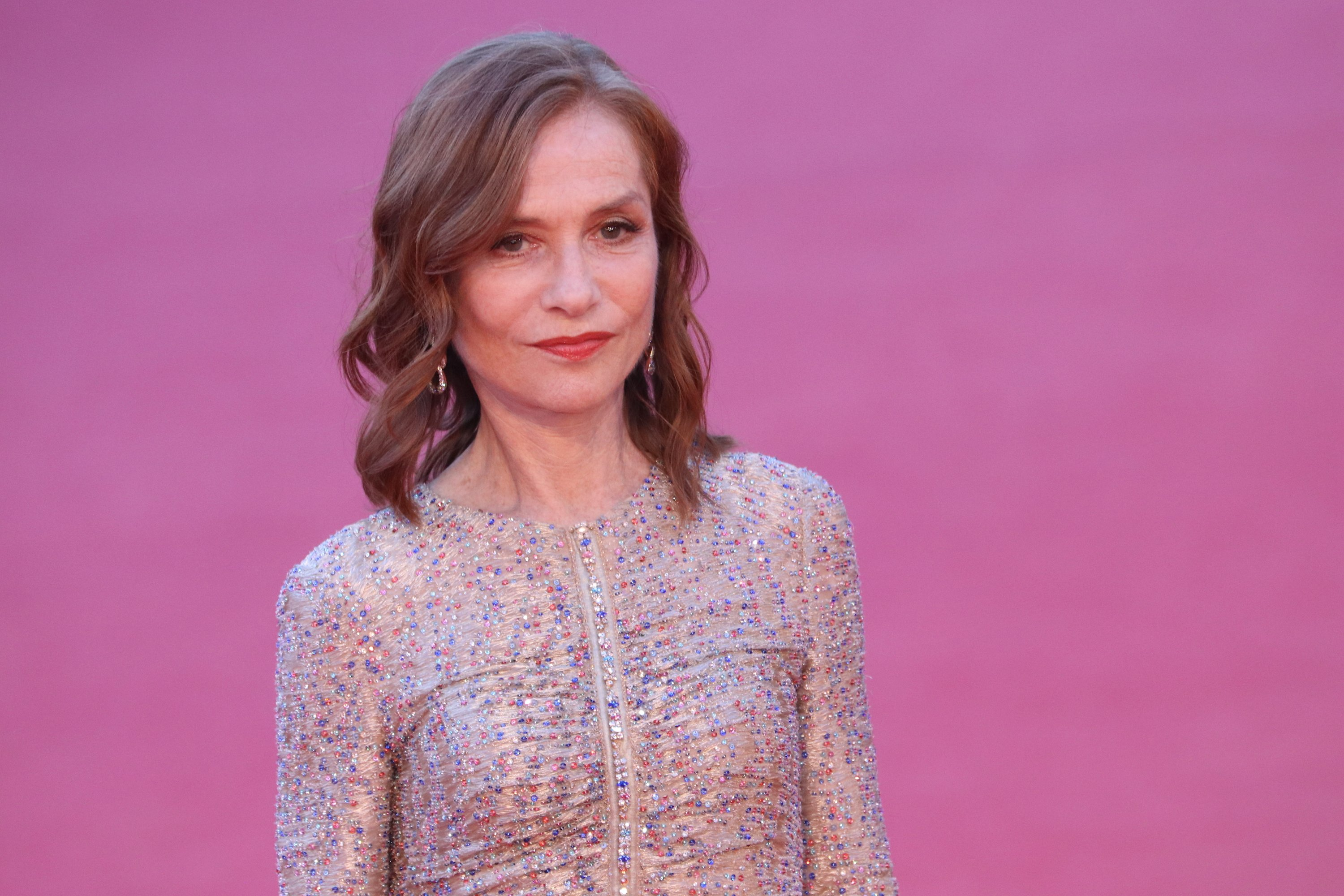 Roma 2018: una foto di Isabelle Huppert sul red carpet