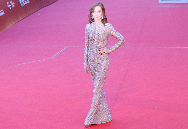 Roma 2018: l'elegantissima Isabelle Huppert sul red carpet