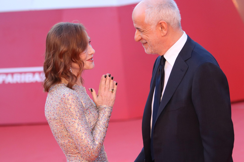 Roma 2018: Isabelle Huppert e Toni Servillo sul red carpet