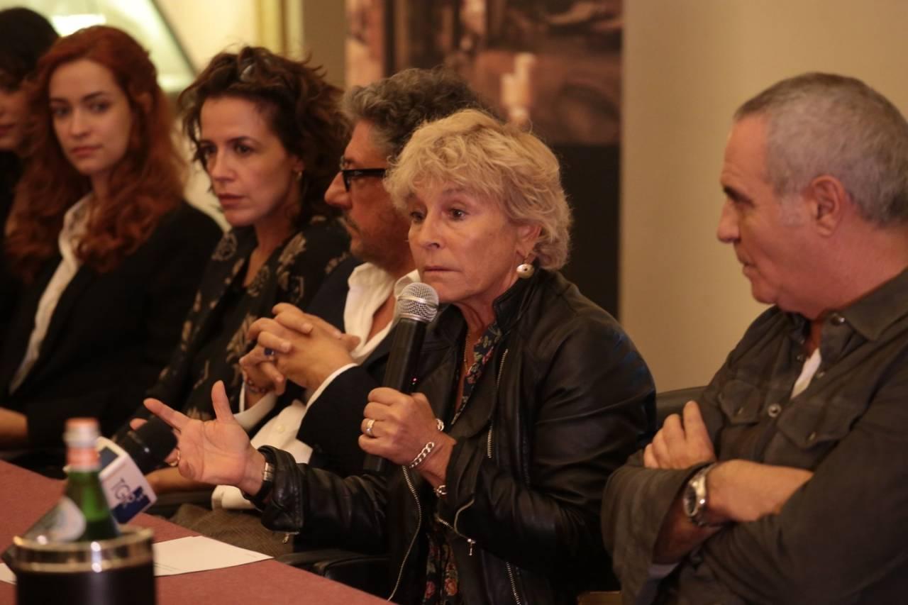 Pezzi unici: la regista Cinzia Th. Torrini durante la conferenza a Firenze