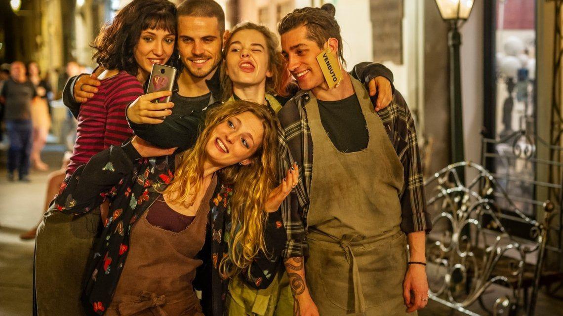 Pezzi unici: il giovane cast