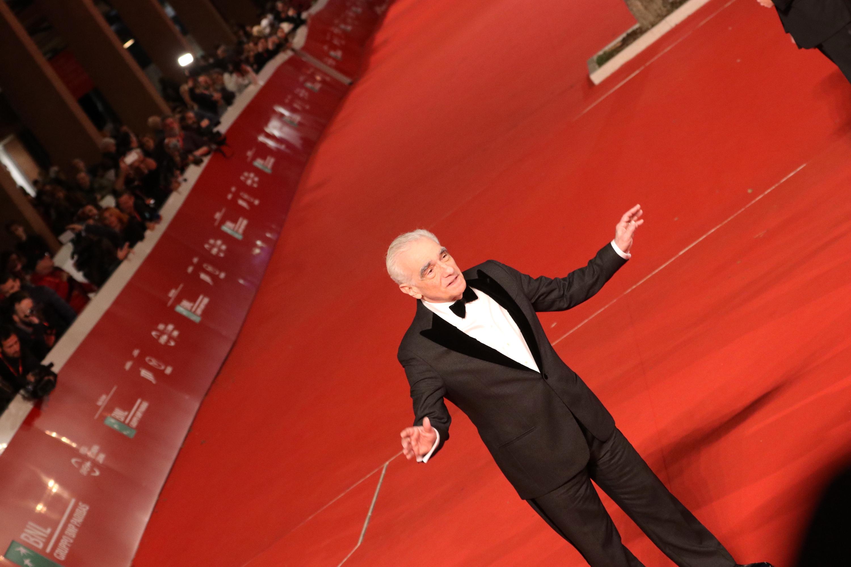 Roma 2018: una particolare foto di Martin Scorsese sul red carpet