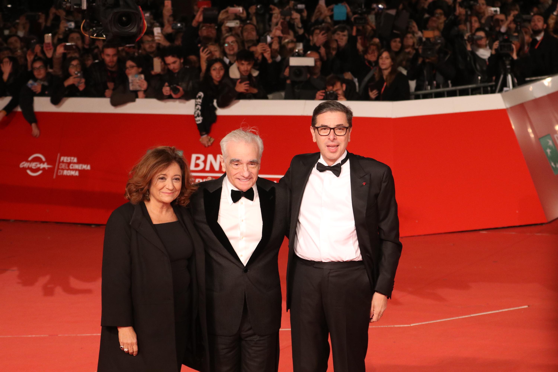 Roma 2018: Martin Scorsese e Antonio Monda sul red carpet