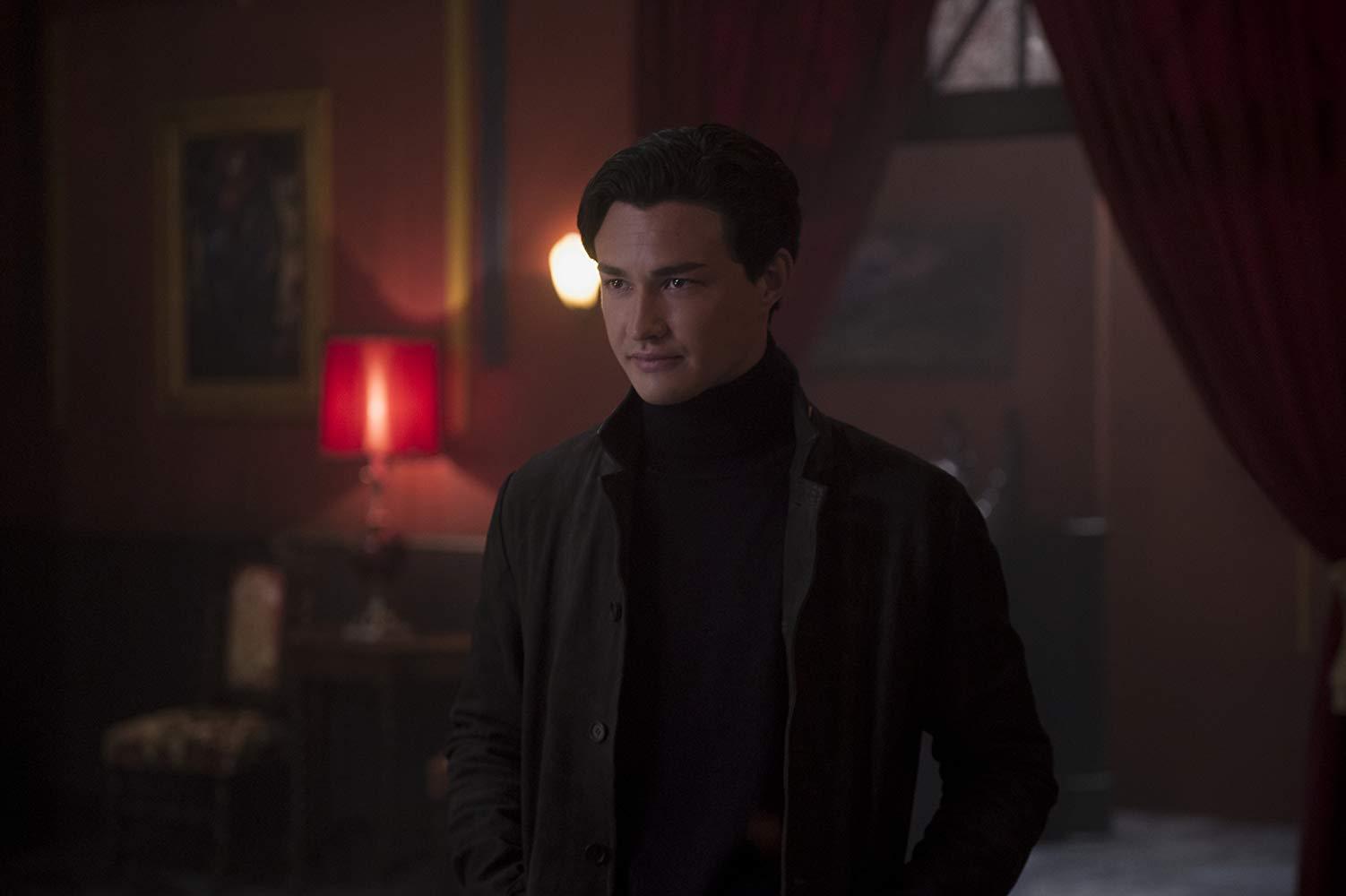 Le terrificanti avventure di Sabrina: Gavin Leatherwood in una scena