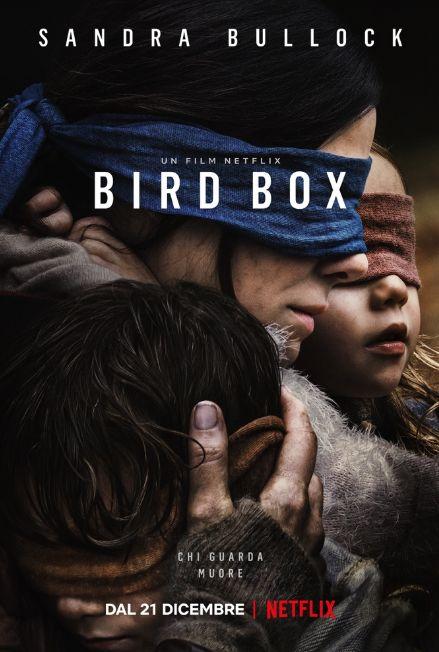 Bird Box: la locandina italiana