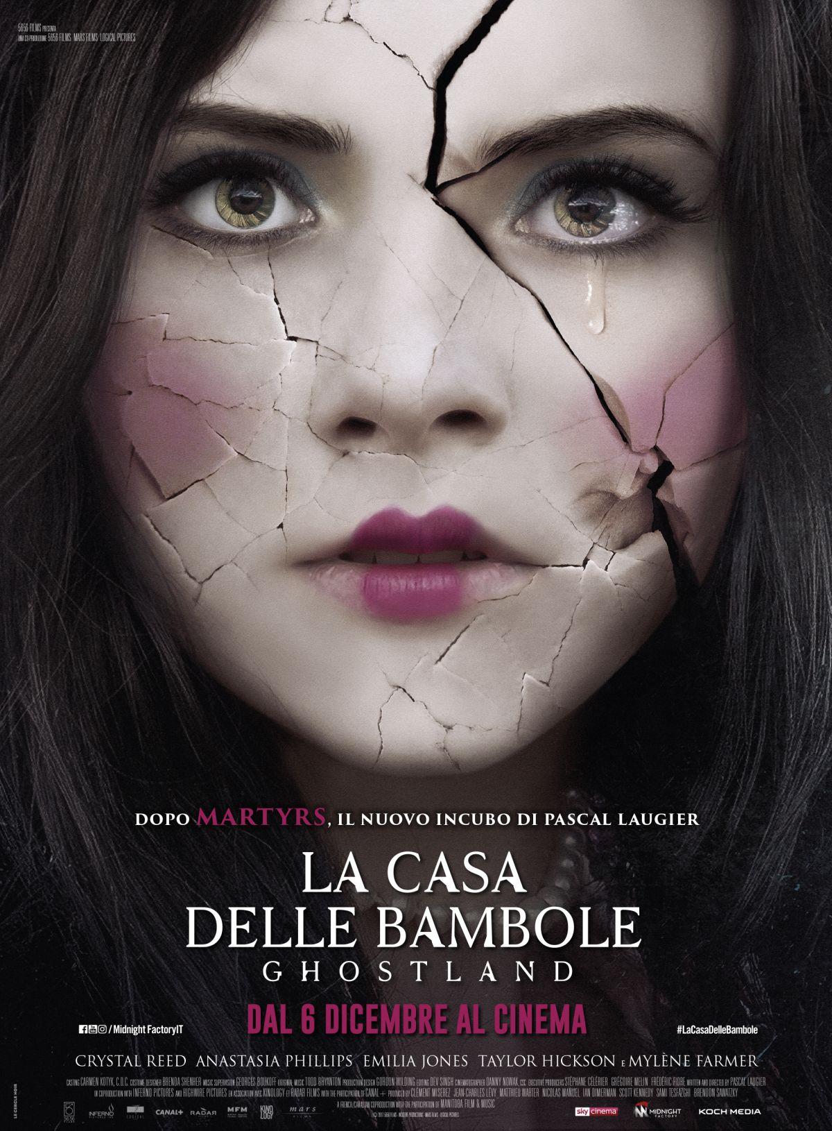 La Casa Delle Bambole – Ghostland,il poster italiano del film horror