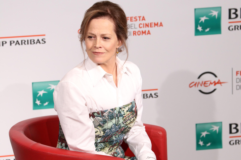 Roma 2018: Sigourney Weaver posa al photocall