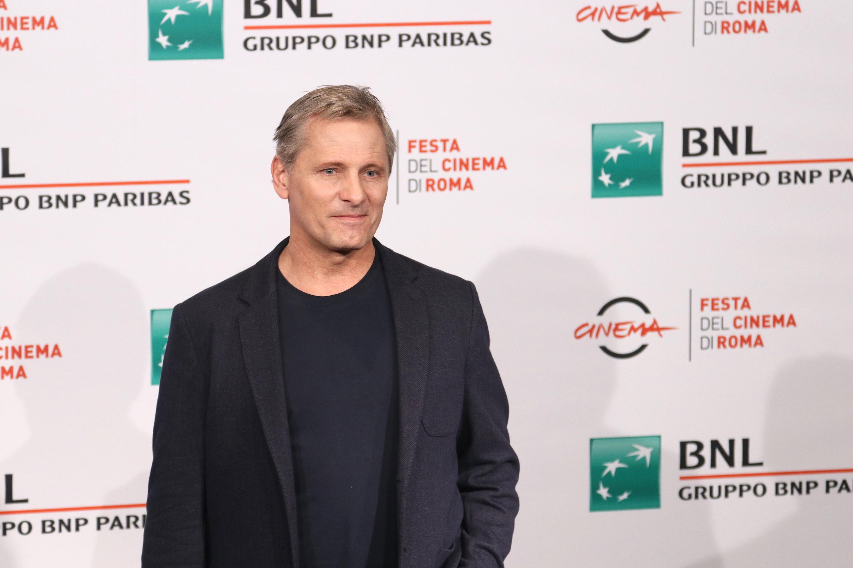 Roma 2018: una foto di Viggo Mortensen al photocall di Green Book