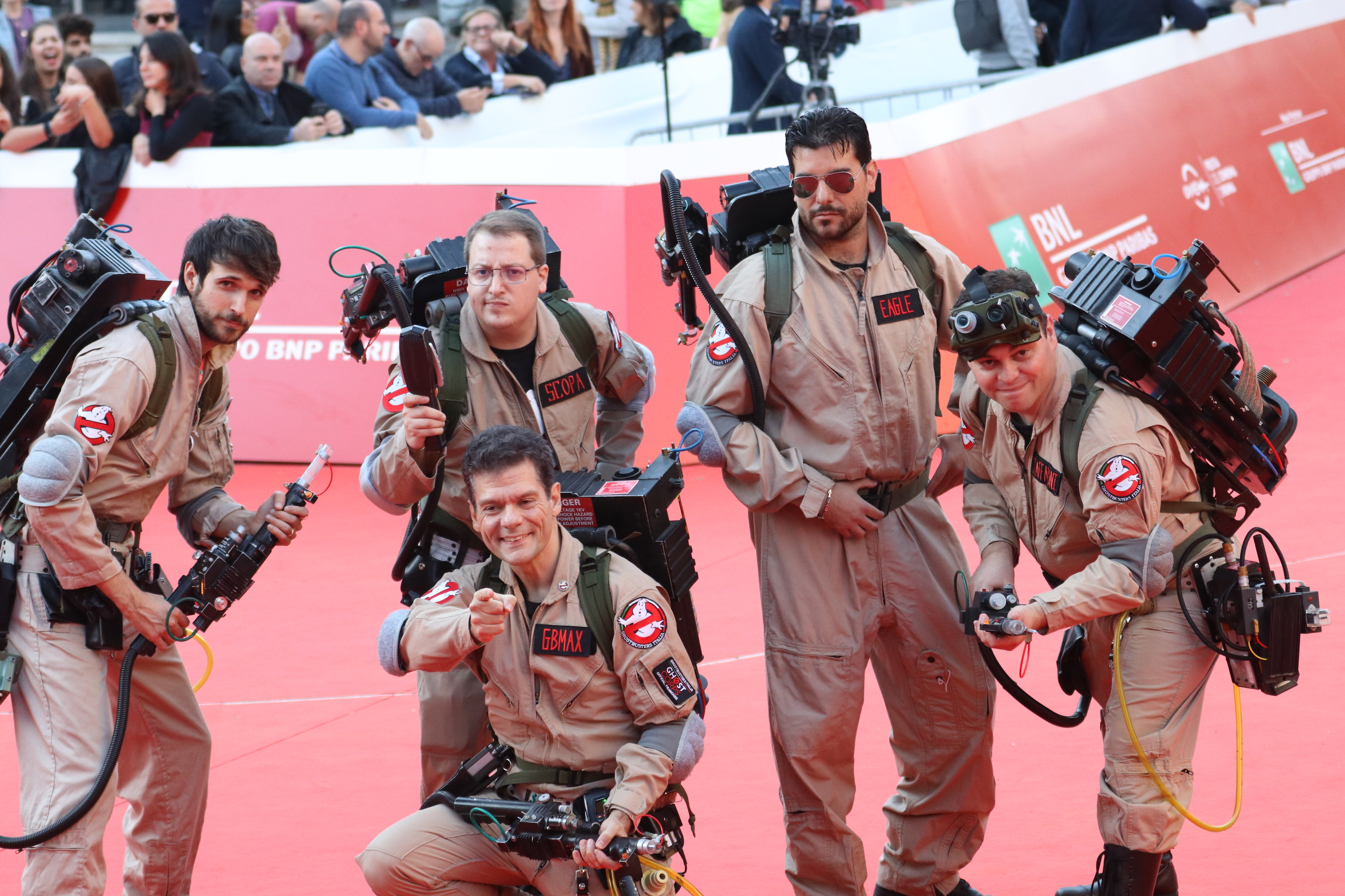 Roma 2018: Ghostbusters sul red Carpet