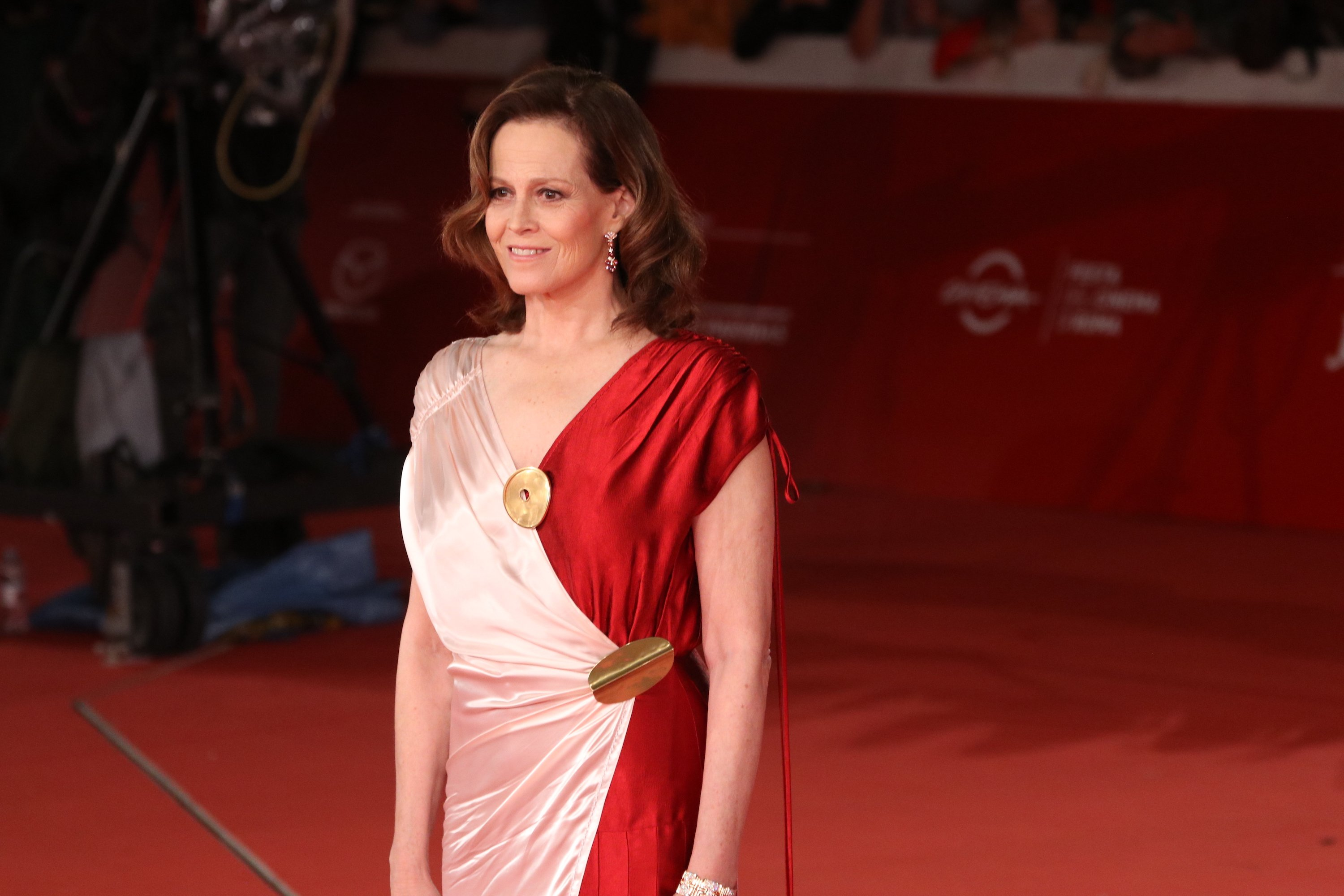 Roma 2018: Sigourney Weaver sul red Carpet