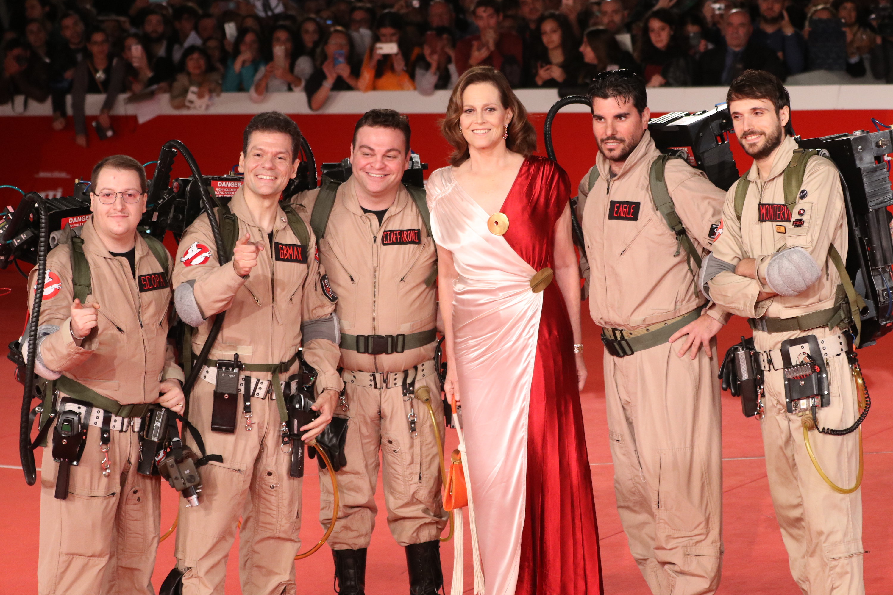 Roma 2018: Sigourney Weaver e i Ghostbusters sul red Carpet